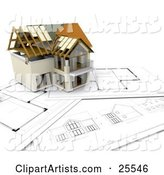 Home Clipart by KJ Pargeter