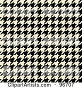 Houndstooth Clipart by Arena Creative