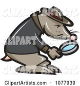 Investigator Clipart by Jtoons