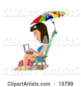 Laptop Clipart by Spanky Art