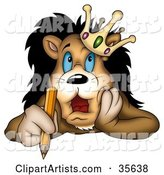 Lion Clipart by Dero