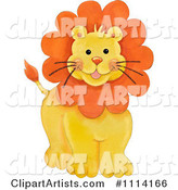 Lion Clipart by Gina Jane