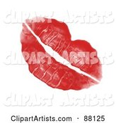 Lipstick Kiss Clipart by Arena Creative