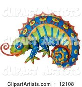 Lizard Clipart by Amy Vangsgard