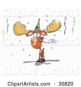 Moose Clipart by Spanky Art