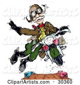 Motorcycle Clipart by Spanky Art