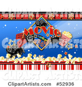 Movies Clipart by Gina Jane