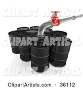 Oil Barrel Clipart by Frog974