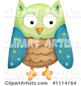 Owl Clipart by Gina Jane