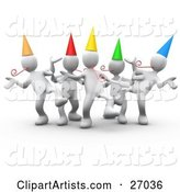 Party Clipart by 3poD