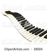 Piano Clipart by KJ Pargeter