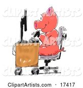 Pig Clipart by Spanky Art