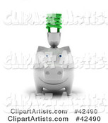 Piggy Bank Clipart by Stockillustrations
