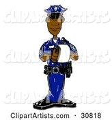 Police Clipart by Spanky Art