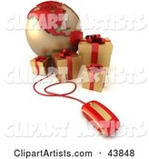 Presents Clipart by Franck Boston