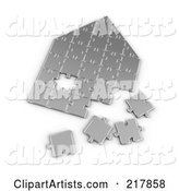 Puzzle Clipart by Stockillustrations