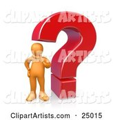 Questionmark Clipart by 3poD