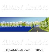 Road Clipart by Rasmussen Images