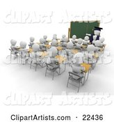 School Clipart by KJ Pargeter