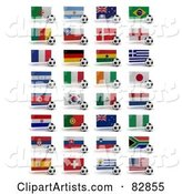 Soccer Clipart by Stockillustrations