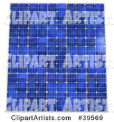 Solar Panel Clipart by Franck Boston