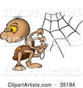 Spider Clipart by Dero