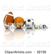 Sports Clipart by KJ Pargeter