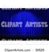 Stage Curtain Clipart by Frog974