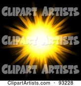 Sun Clipart by Arena Creative