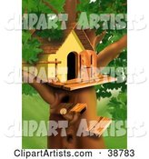 Tree House Clipart by Dero