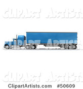 Trucking Clipart by Franck Boston