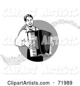 Vector Accordion Clipart by Inkgraphics