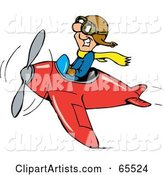 Vector Airplane Clipart by Dennis Holmes Designs
