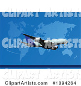 Vector Airplane Clipart by Leonid