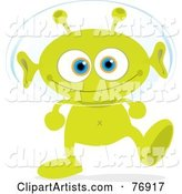 Vector Alien Clipart by Qiun