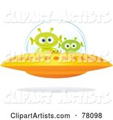 Vector Aliens Clipart by Qiun