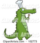 Vector Alligator Clipart by Cory Thoman
