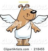 Vector Angel Clipart by Cory Thoman