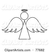 Vector Angel Clipart by Rogue Design and Image