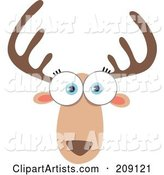 Vector Animal Face Clipart by Qiun