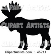 Vector Animal Silhouettes Clipart by JR