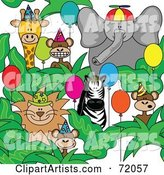 Vector Animals Clipart by Inkgraphics