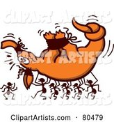 Vector Ants Clipart by Zooco