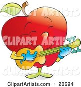 Vector Apple Clipart by Alexia Lougiaki