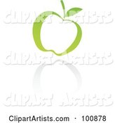 Vector Apple Clipart by Cidepix