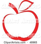 Vector Apple Clipart by Prawny