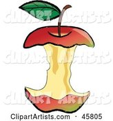 Vector Apple Clipart by Rogue Design and Image