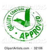 Vector Approve Clipart by Beboy