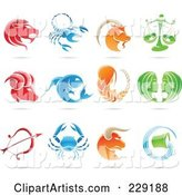 Vector Astrological Sign Clipart by Cidepix