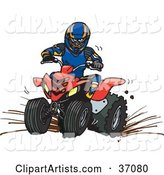 Vector Atv Clipart by Dennis Holmes Designs